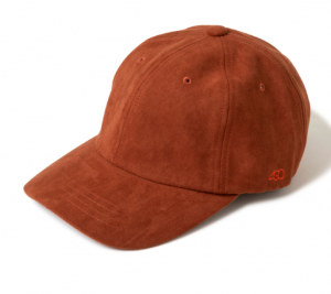 キャップ(帽子)通販_SIDE_ICON_SUEDE_CAP_サイド_アイコン_スウェード_キャップ__-_DECADE_ONLINE_STORE