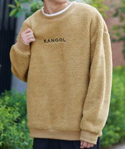 KANGOL___カンゴール_ボアフリース_オーバーサイズ_クルーネックトレーナー_-_Google_検索